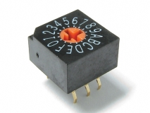 SRJ Series Rotary DIP Switches Thru-Hole