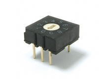 DR Series Rotary DIP Switches SMT, Vertical or Right Angle