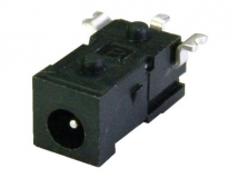 2.5A 16VDC电源插座SMT   SMD直流DC母座  High Current SMD DC Power Socket