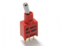 200A Series Sealed Sub-miniature Toggle SwitchRF