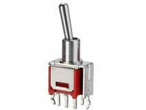 RLS-100  立式摇臂开关3A250V/立式钮子开关 Vertical rocker switch 3A250V / vertical toggle switch